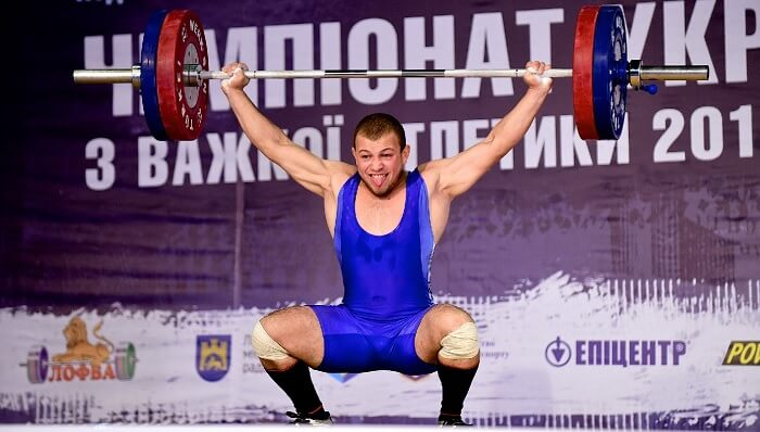 Lars Anderson Weightlifting